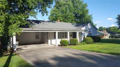 Mayfield Single Family Home For Sale: 102 Erwin Drive