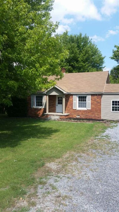 Calvert City Single Family Home For Sale: 1584 Sharpe School Road
