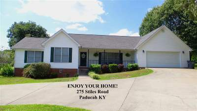 Paducah Single Family Home Contract Recd - See Rmrks: 275 Stiles Road