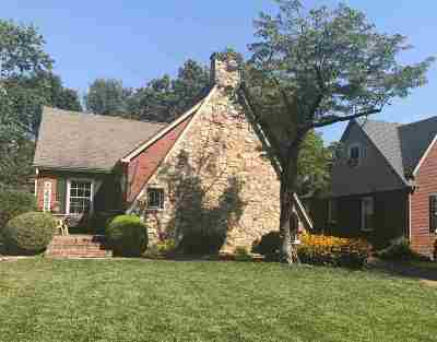 Paducah Single Family Home For Sale: 3421 Forest Circle