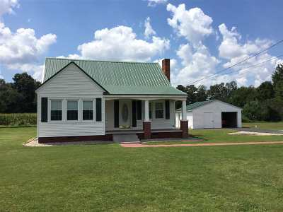 Calloway County Single Family Home For Sale: 4117 Kirksey Rd