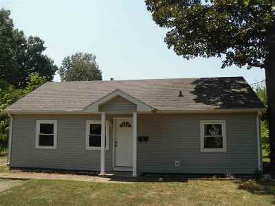 Paducah Single Family Home For Sale: 927 N 26th Street