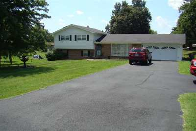 McCracken County Single Family Home For Sale: 5535 Kentucky Dam Road