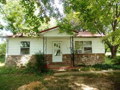 Cadiz Single Family Home For Sale: 1568 South Road