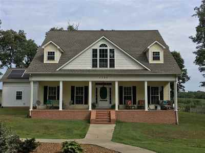 Mayfield Single Family Home For Sale: 1150 Oak Grove Church Road