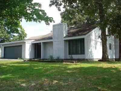 Benton Single Family Home For Sale: 33 Hook Lane