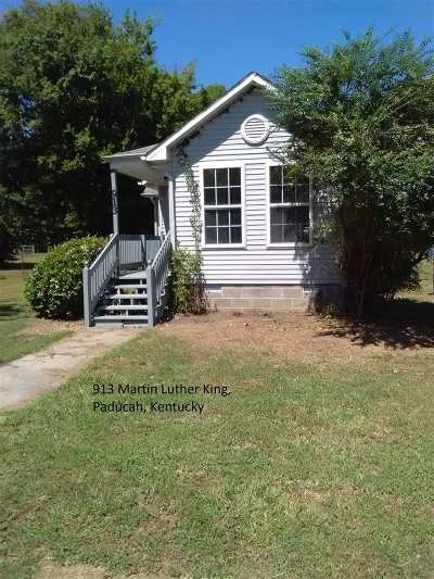 Paducah Single Family Home For Sale: 913 Martin Luther King