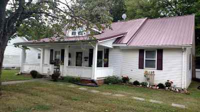 Princeton Single Family Home Contract Recd - See Rmrks: 604 Hopkinsville St