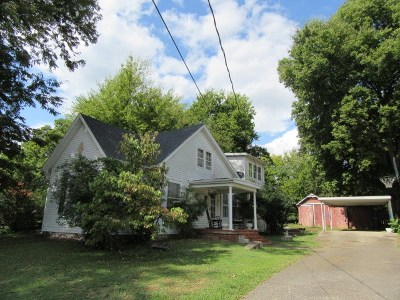 Princeton Single Family Home For Sale: 606 W Locust Street