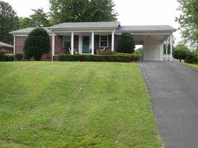 Calvert City KY Single Family Home Contract Recd - See Rmrks: $114,900