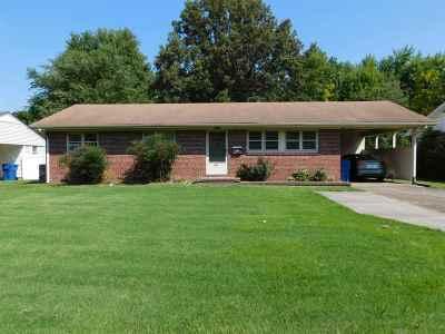 Murray Single Family Home For Sale: 1654 Ryan Avenue