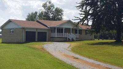 Benton KY Single Family Home For Sale: $165,000