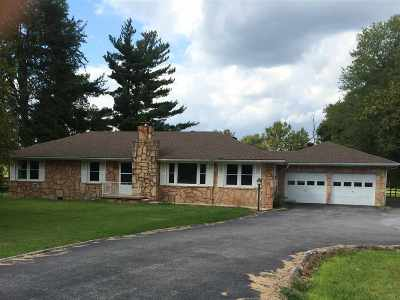 Princeton Single Family Home Contract Recd - See Rmrks: 10944 Marion Road