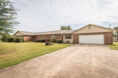 Paducah Single Family Home For Sale: 640 Gholson Rd