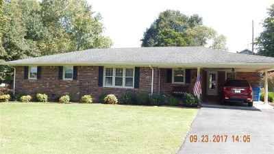 Benton Single Family Home For Sale: 1317 Shelby McCallum Dr