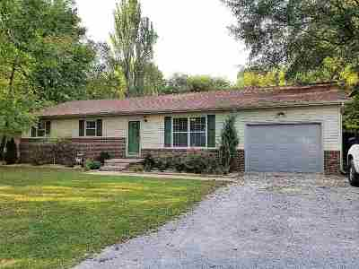 Calvert City Single Family Home Contract Recd - See Rmrks: 95 Luck Lane