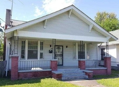 Paducah Single Family Home For Sale: 1029 Martin Luther King Drive