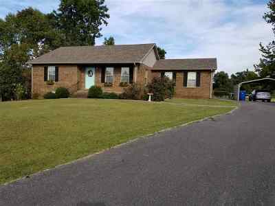 Benton Single Family Home For Sale: 131 Haltom Drive
