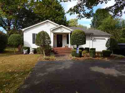Benton KY Single Family Home Contract Recd - See Rmrks: $79,700