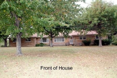 Paducah KY Single Family Home For Sale: $155,000