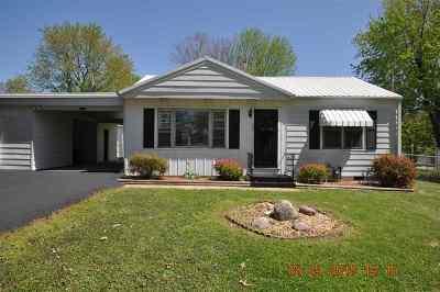 Calvert City Single Family Home For Sale: 567 Cherry Street