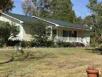 Calloway County Single Family Home For Sale: 1585 Hammond Rd