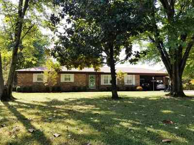Paducah KY Single Family Home For Sale: $159,900