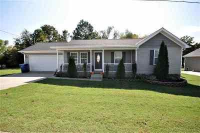 Benton Single Family Home For Sale: 25 Ashley Drive