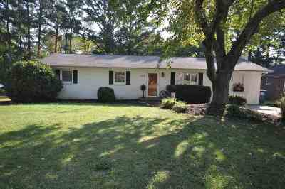 Murray Single Family Home For Sale: 605 Meadow Lane