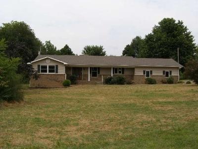 Fancy Farm KY Single Family Home For Sale: $119,000