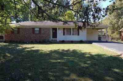 Calvert City Single Family Home For Sale: 2069 Knob Hill Drive