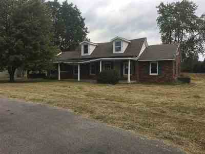 Benton Single Family Home For Sale: 5040 Brewers Highway
