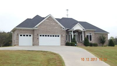 Murray, New Concord, Grand Rivers, Benton, Gilbertsville Single Family Home For Sale: 1068 Bethel Rd
