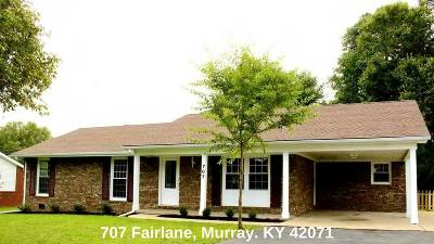 Murray Single Family Home For Sale: 707 Fairlane