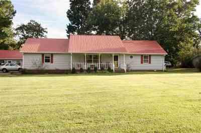 McCracken County Single Family Home For Sale: 4100 Clinton Road