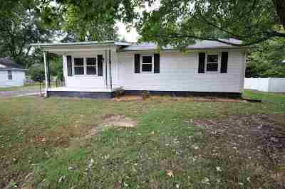 Calvert City Single Family Home For Sale: 42 Alaska St