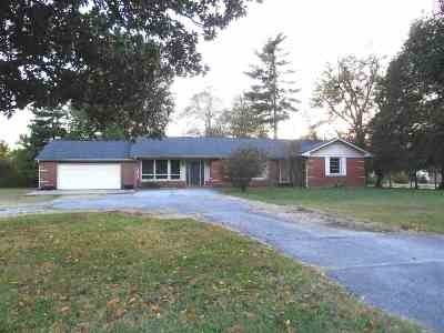 McCracken County Single Family Home For Sale: 6421 Benton Road