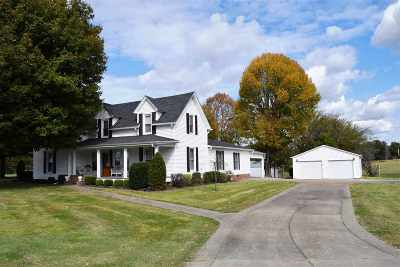 Benton Single Family Home Contract Recd - See Rmrks: 3114 Us Hwy 68 W