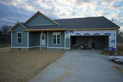 Murray KY Single Family Home Contract Recd - See Rmrks: $189,000
