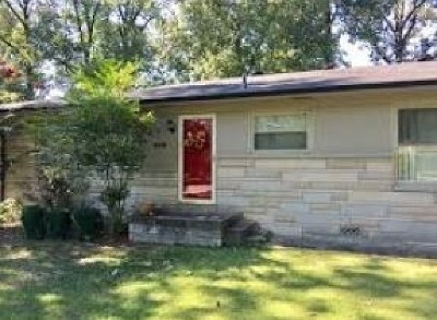 McCracken County Single Family Home For Sale: 2519 Laclede