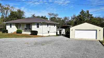 Cadiz Single Family Home For Sale: 904 B. Hall Rd.