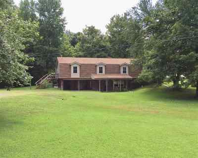 Benton Single Family Home For Sale: 1998 Murray Hwy.