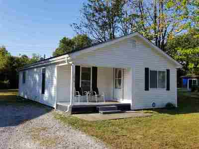 Paducah KY Single Family Home For Sale: $49,500