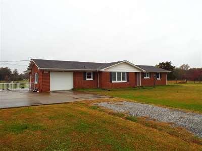 Benton Single Family Home For Sale: 1696 S Wadesboro Rd