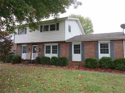 McCracken County Single Family Home For Sale: 2436 Trimble