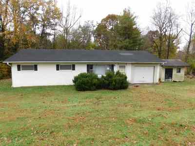 Murray Single Family Home For Sale: 2809 West Fork Road