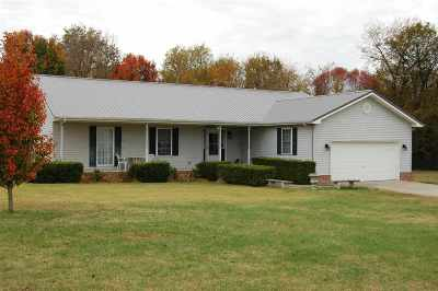 McCracken County Single Family Home Contract Recd - See Rmrks: 11030 Rachel Lane