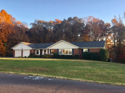Benton Single Family Home For Sale: 1733 Oak Level Rd