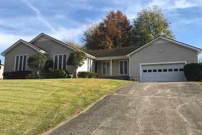 Mayfield Single Family Home For Sale: 1322 Fairway Circle