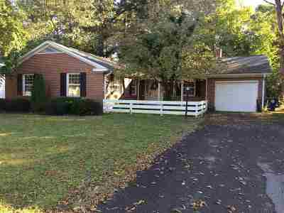 Murray Single Family Home Contract Recd - See Rmrks: 1007 Sharpe St